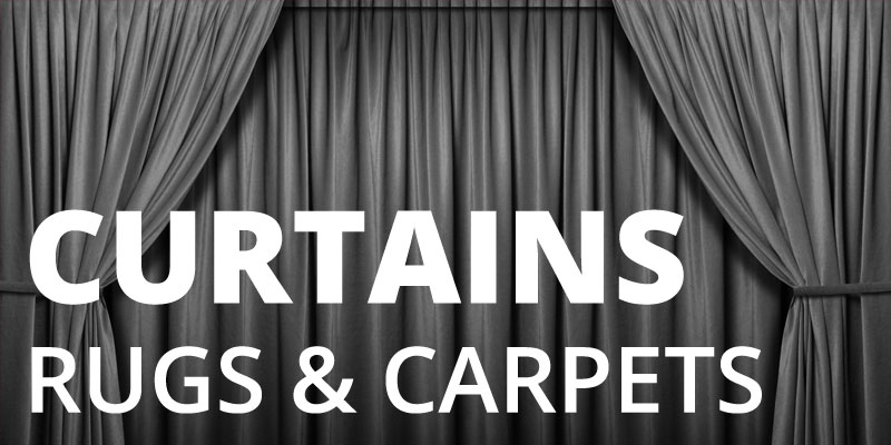 Curtains Rugs Carpets cleaning service