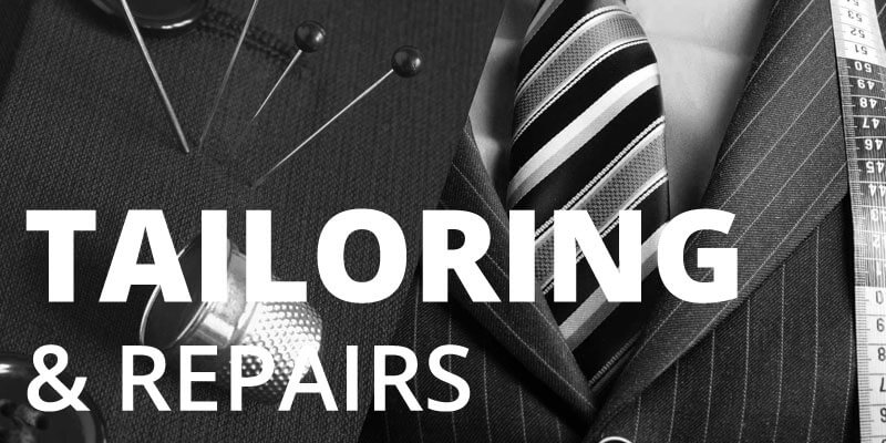 tailoring and repair service in canary wharf